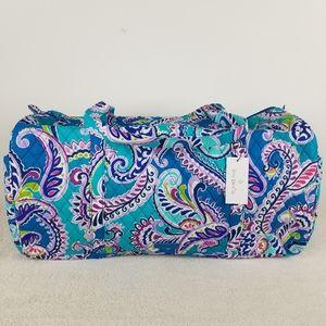 Vera Bradley Large Duffel Bag Waikiki Paisley NWT